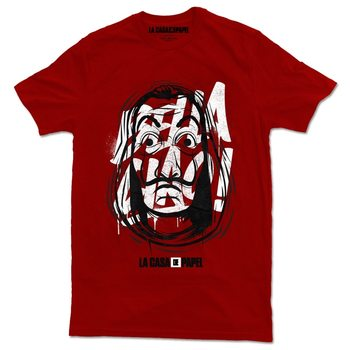 T-shirt Money Heist (La Casa De Papel) - Mask