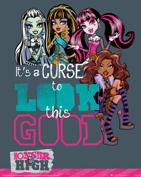 Monster High - Look This Good - плакат (poster)
