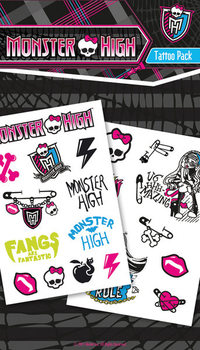 Τατουάζ MONSTER HIGH - symbols