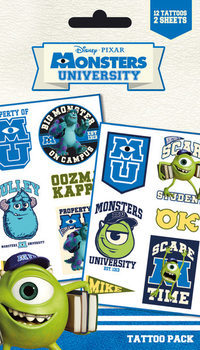 MONSTERS UNIVERSITY - mike & sulley matrica tetoválás