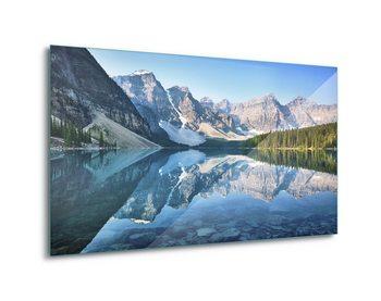 Γυάλινη τέχνη Mountain Mirror
