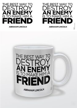 Abraham Lincoln – A Friend muggar