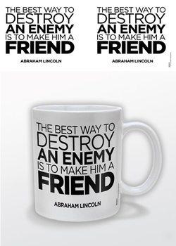 Abraham Lincoln – A Friend muggar