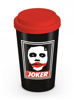 Batman The Dark Knight - Obey The Joker Travel Mug muggar