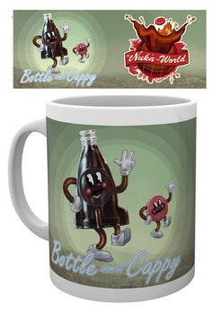 Fallout - Bottle and Cappy muggar