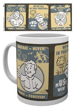 Fallout - Vault posters muggar