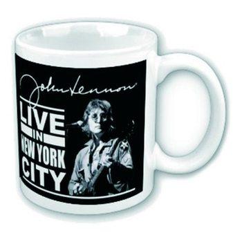 Mugg John Lennon – Live New York City