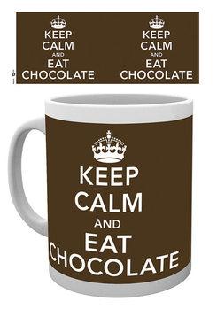 Keep Calm and Eat Chocolate muggar