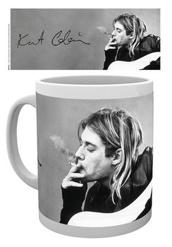 Kurt Cobain - Smoking muggar