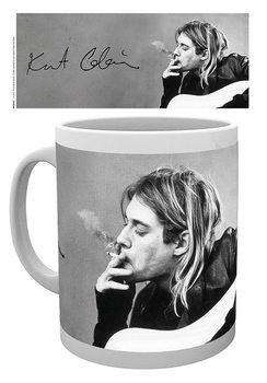 Kurt Cobain - Smoking muggar