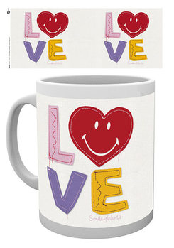Smiley - Craft Love Valentines Day muggar