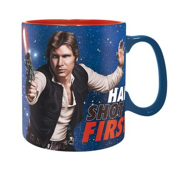 Star Wars - Han Shot First muggar