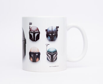 Mugg Star Wars: The Mandalorian - Helmets