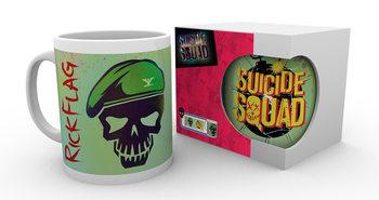 Suicide Squad- Flag Skull muggar