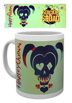 Suicide Squad- Harley Skull muggar
