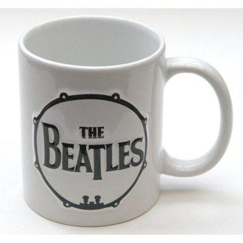 The Beatles - Drum & Apple Records Sculptured muggar
