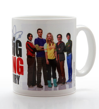 The Big Bang Theory - Group Portait muggar