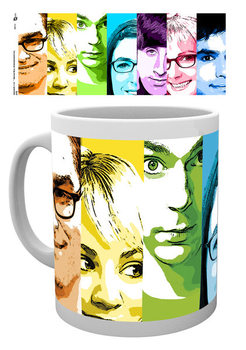 The Big Bang Theory - Rainbow muggar
