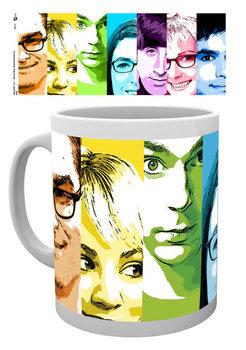 The Big Bang Theory - Rainbow muggar