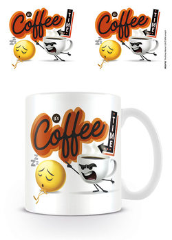 The Emoji Movie - It's Coffee Time muggar
