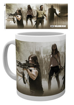The Walking Dead - Banner muggar