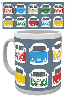 VW Camper - Campers Colours Illustration muggar