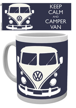VW Volkswagen Camper - Keep Calm muggar