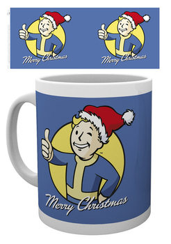 чаша Fallout - Merry Christmas