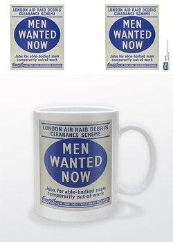 чаша IWM - Men Wanted Now