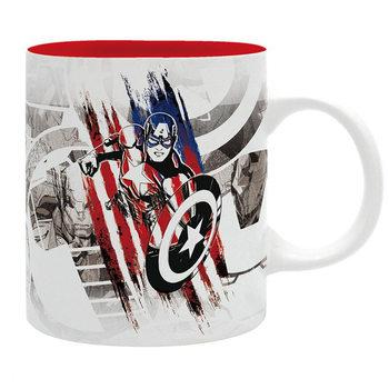 чаша Marvel - Captain America Design