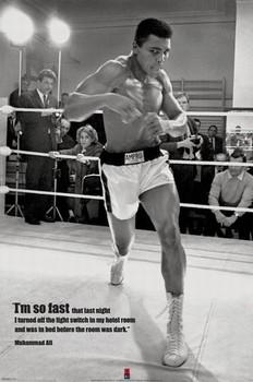 Muhammad Ali - fast - плакат (poster)