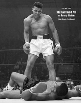 Muhammad Ali - portrait плакат