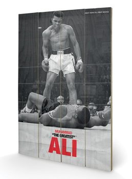 MUHAMMAD ALI - vs liston  Pictură pe lemn