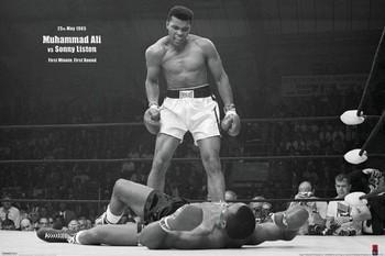 Muhammad Ali vs. Sonny Liston - плакат (poster)