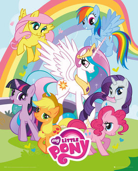 My little pony - group - плакат (poster)