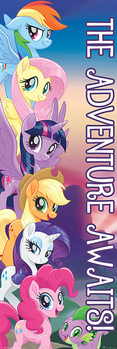 Αφίσα πόρτας My Little Pony: Movie - The Adventure Awaits