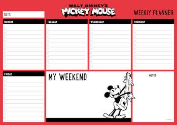 Plánovač Myšiak Mickey (Mickey Mouse)