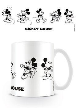 Kubki Myszka Miki (Mickey Mouse) - Vintage