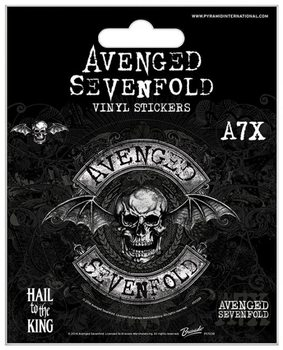 Naklejka Avenged Sevenfold - Deathbat