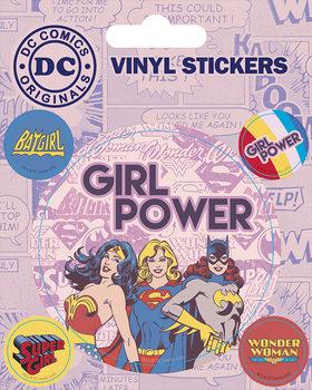 Naklejka DC Comics - Girl Power