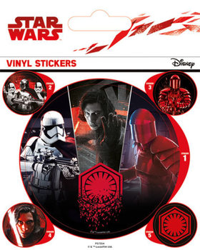 Naklejka Gwiezdne wojny: Ostatni Jedi- First Order