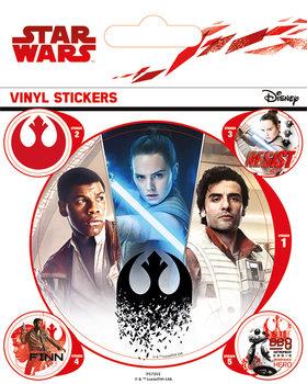 Naklejka Gwiezdne wojny: Ostatni Jedi- Rebels