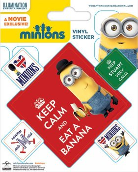 Naklejka  Minionki (Despicable Me) - Keep Calm