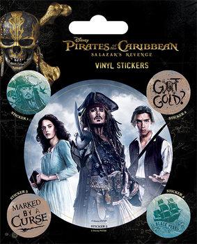 Naklejka Piraci z Karaibów - Captain Jack Sparrow