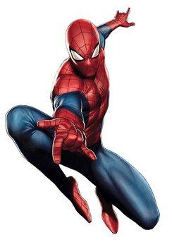 Nalepka MAXI Marvel - Spider-Man