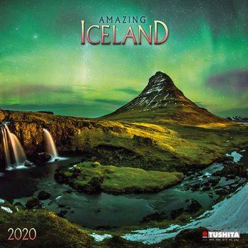 Amazing Iceland naptár 2021