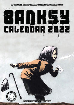 Banksy naptár 2022