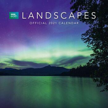 BBC Earth - Landscapes naptár 2021