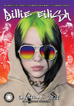 Billie Eilish naptár 2021