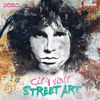 City Wall Street Art naptár 2021